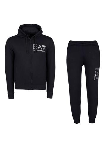 EA7 Emporio Armani Eşofman Takım Siyah